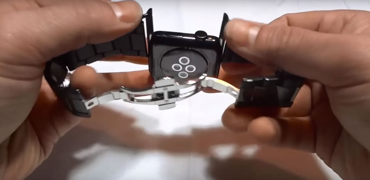 how to take apple watch band off