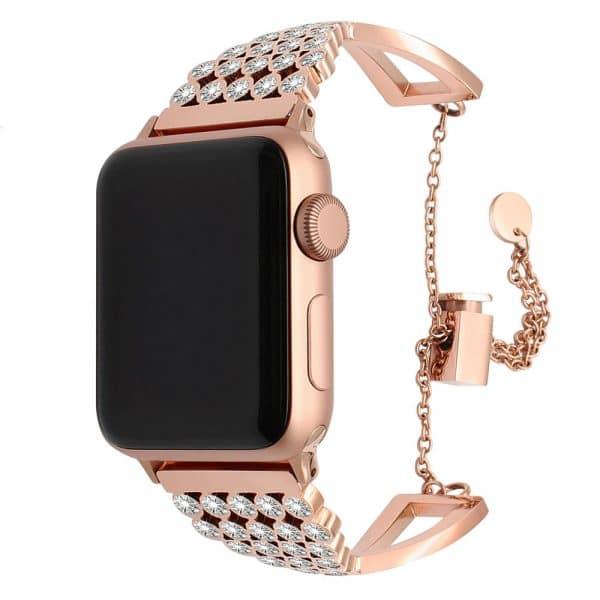 bling diamond apple watch band