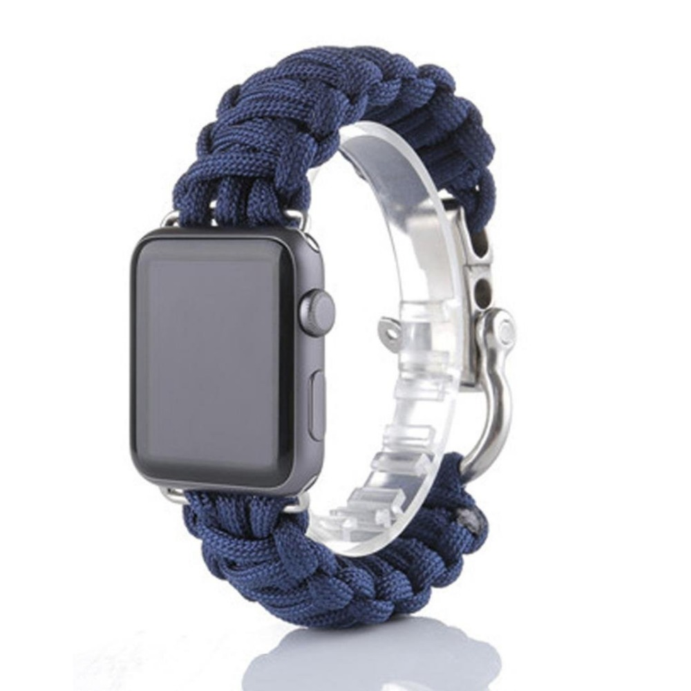 68564f81a Paracord Apple Watch Band - iWatch Strap Store
