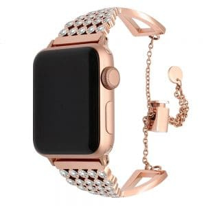 bling diamond apple watch band